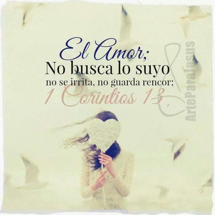 1 Corintios 13 4 8 4 El Amor Es Sufrido Es Benigno El Amor No