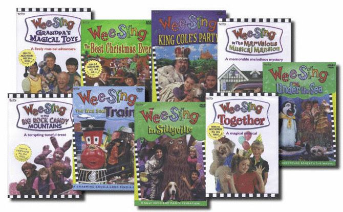 wee sing 9 dvds singing dancing and drama based on wee sing audios dvd set includes best christmas ever big rock candy mountain grandpas magical toys - Wee Sing The Best Christmas Ever