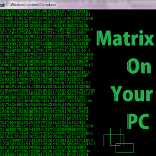 How To Create Matrix Falling Codes Effect On Windows Using Notepad Cover Photo Coding Matrix Note Pad
