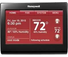 Honeywell TH9320WFV6007 WiFi 9000 Color Touchscreen