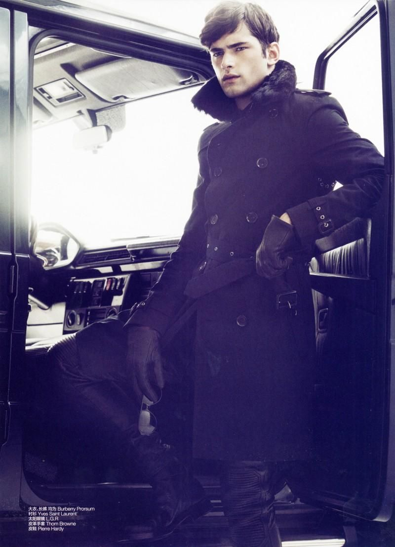 Sean OPry Modeling: His Best Editorial Photo Moments image Sean Opry January 2012 GQ China Greg Harris