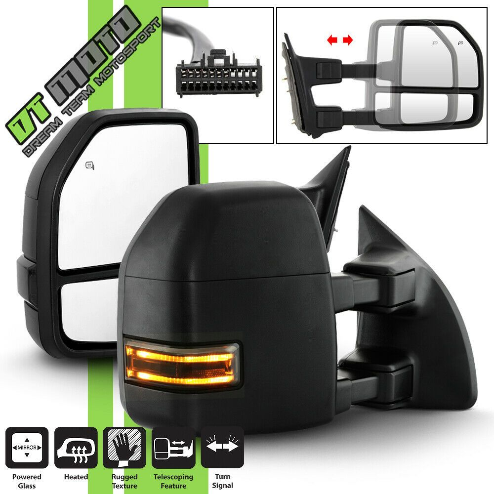 for 2011 2016 Jeep Grand Cherokee LH Left Driver Mirror Power//Heated Wo// Blind