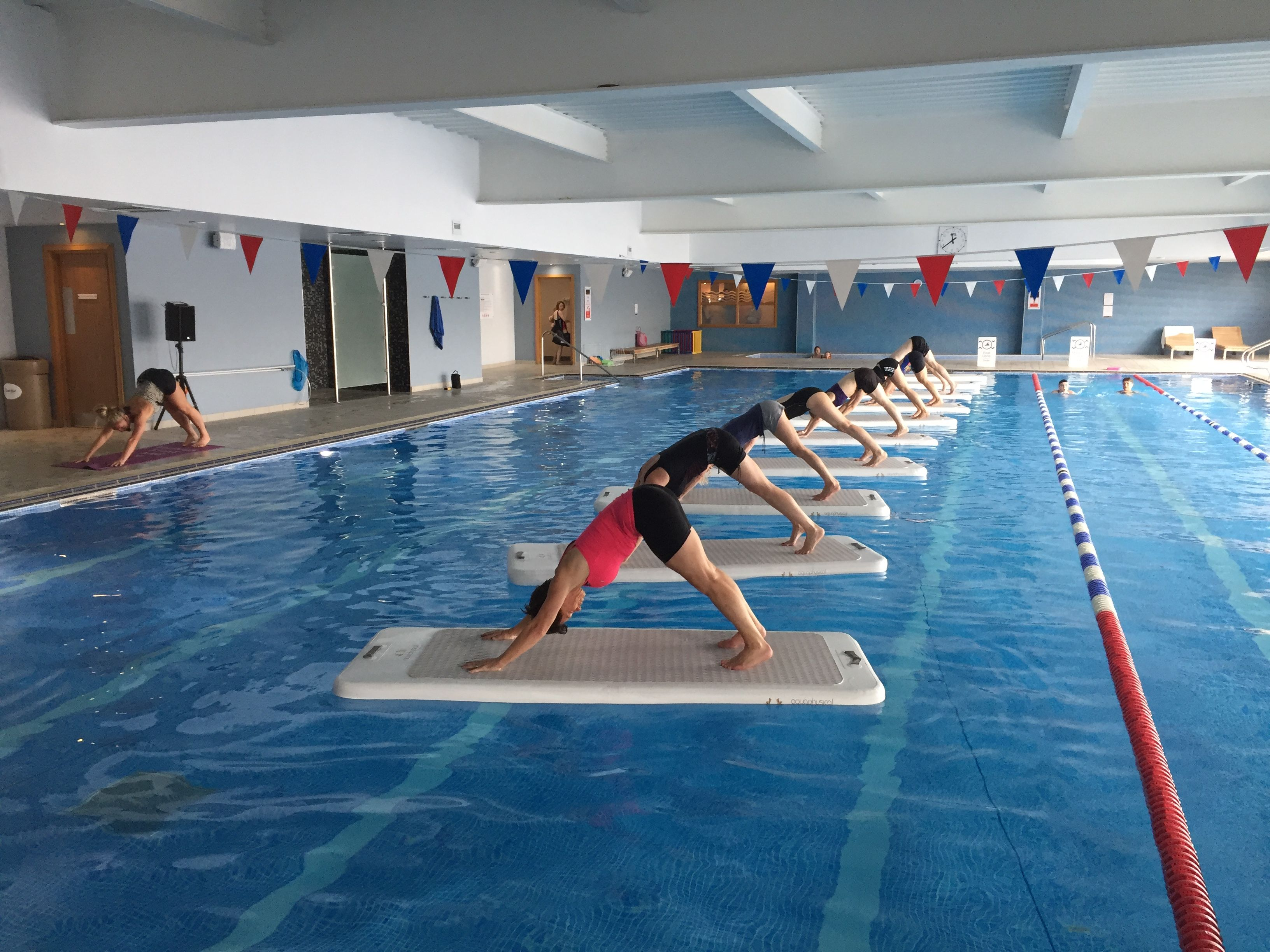 David Lloyd Worthing >> Group Water Workout At David Lloyd In Worthing Water The
