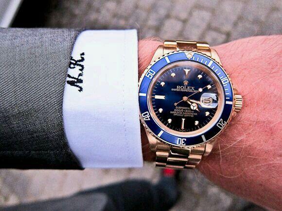 Azul y Oro. ROLEX. La elegancia segundo a segundo.