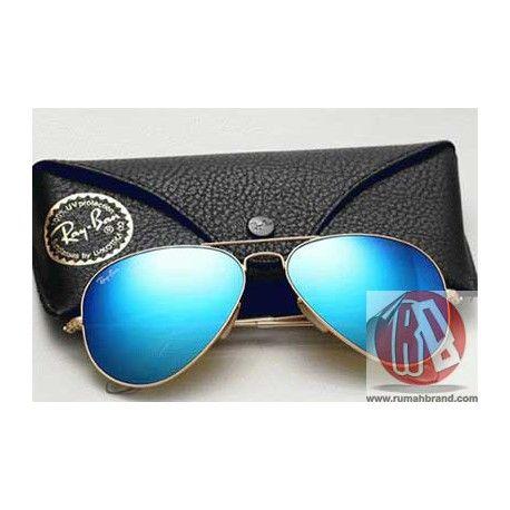 Jual kacamata Aviator Blue   Rumahbrand