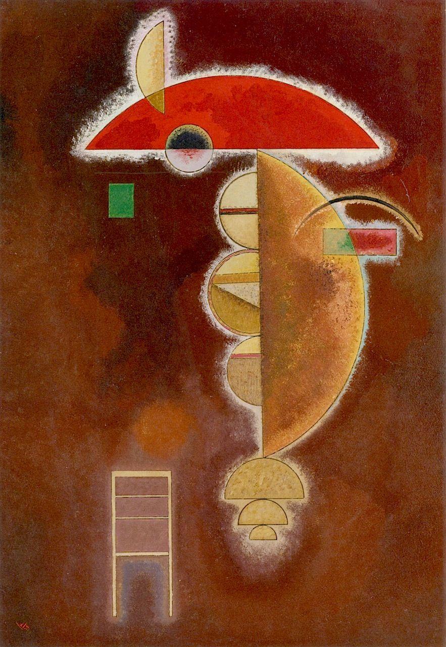 Wassily Kandinsky - Depressed, 1929 | aRTe / aRt | Pinterest ...