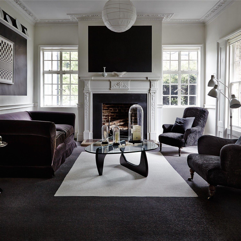 Grey Living Room Carpet Ideas