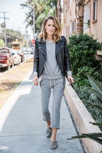 How To Wear Grey Loafers Moda Estilo Como Combinar Pantalon Gris Moda