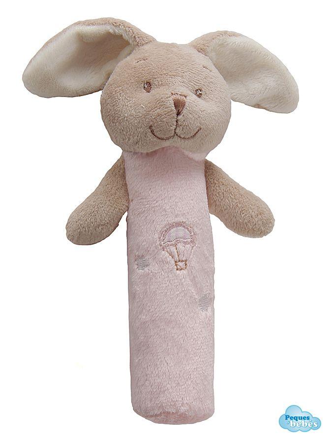 Sonajero para beb con cabeza de conejito esta realizado en terciopelo muy suave y agradable al - Juguetes caseros para conejos ...