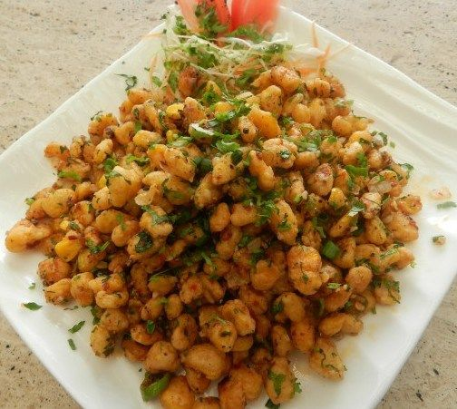 Crispy Fried Corn Recipe Food Recipes Indian Food Recipes