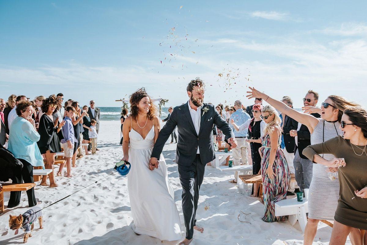 Rumors Beach House Wedding In Orange Alabama