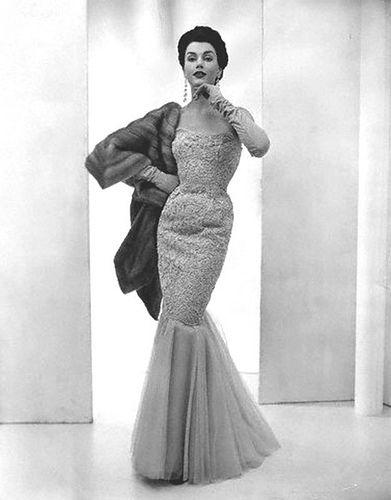 049393869518 1953 Mermaid-dress | fashions | Hollywood glamour dress, Hollywood ...