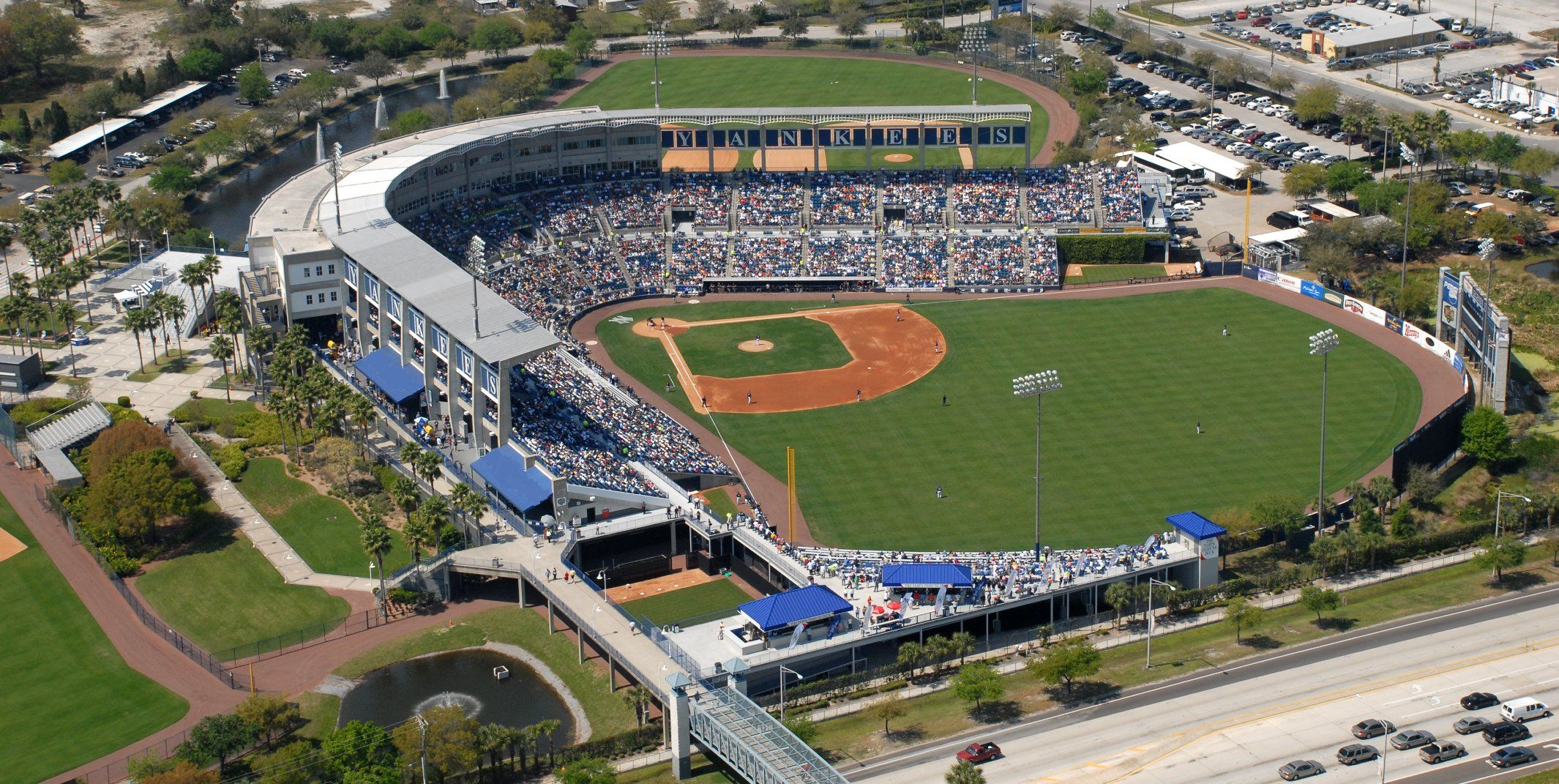 Steinbrenner Field is home to the Yankees during
