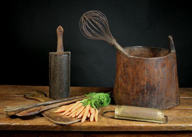 Treen kitchenware