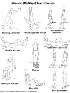 exercise for torn meniscus