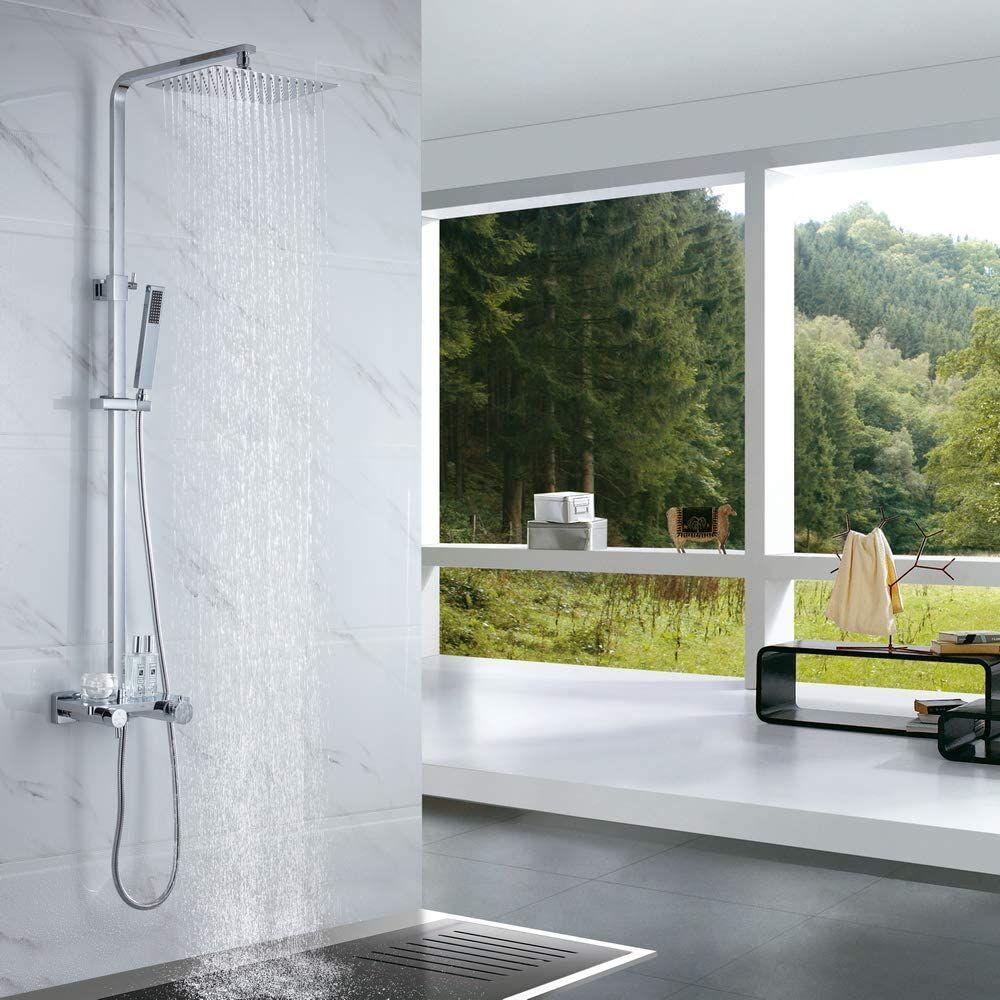 Thermostat Duschsystem In 2020 Duschsysteme Duscharmatur Duschkopf