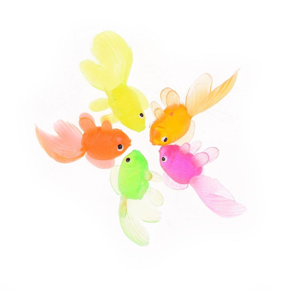 """12-3/"""" Floating Goldfish Soft Plastic"""