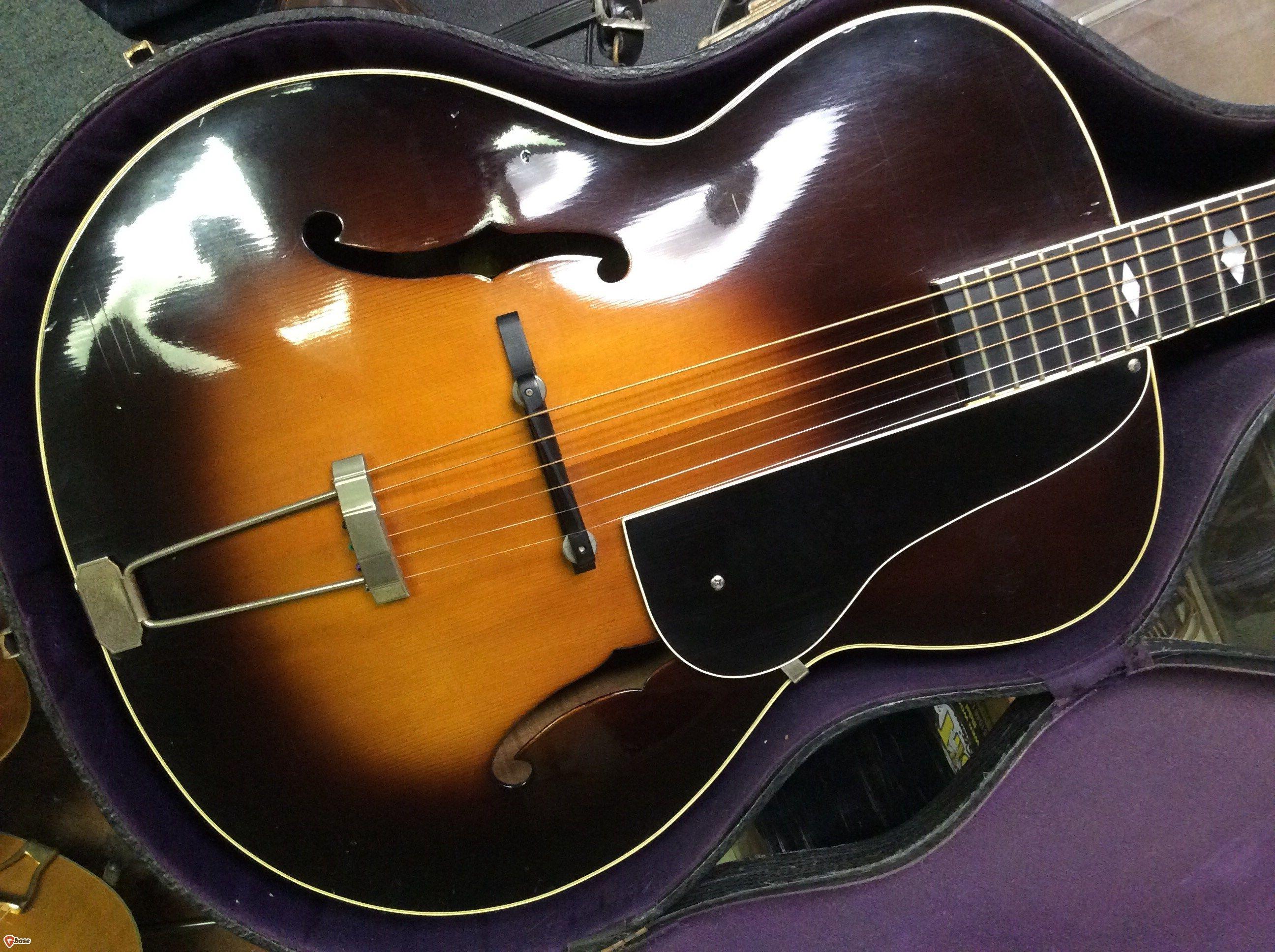1938 Vega C-56 Sunburst | Archtop Quest in 2019 | Guitar