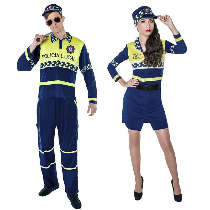 Pareja Policías Locales #parejas #disfraces #carnaval #novedades2016