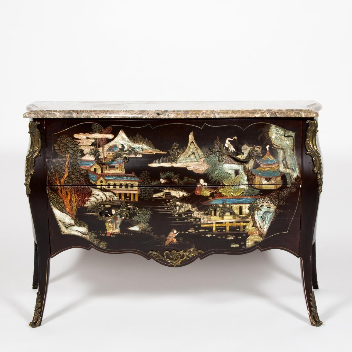Commode En Laque De Coromandel 19th Century For Sale On Proantic By Antiquites Rodriguez Decoration Mobilier Ancien Commode Mobilier