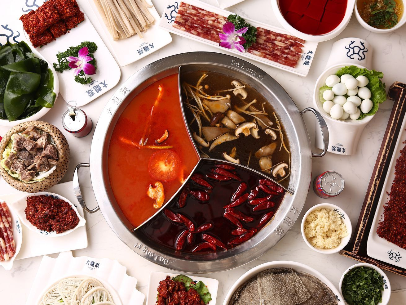 Big chinese hot pot chain in chinatown scores a star in