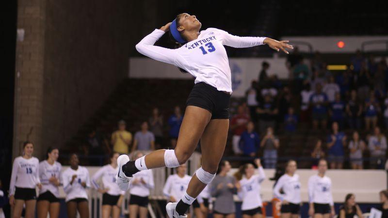 Texas In Tough Spot In Ncaa Volleyball Bracket Volleyball Volleyball News University Of Kentucky