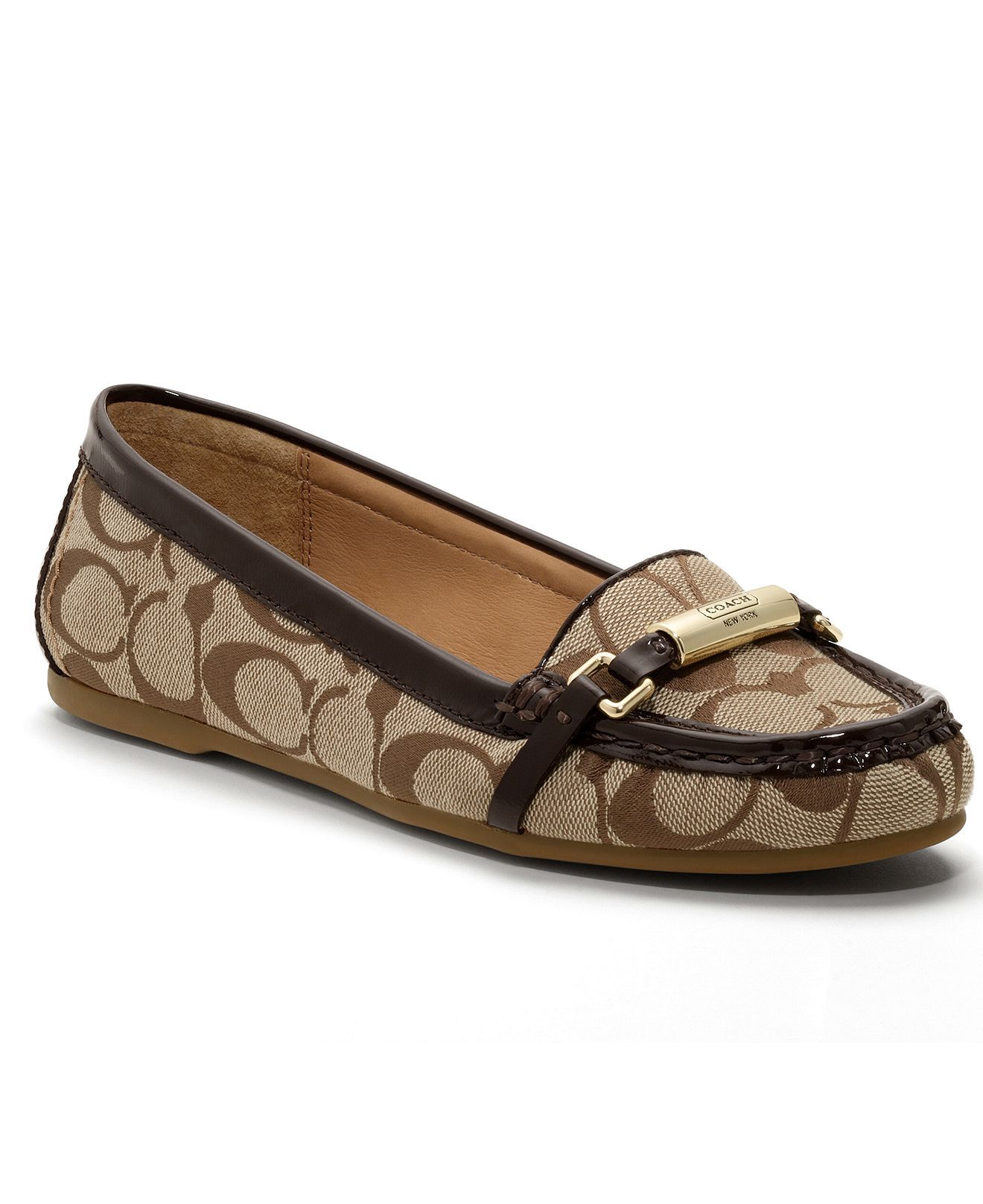 COACH BERDINA LOAFERS, my Dad just got these for my little Mom for xmas- so cute!