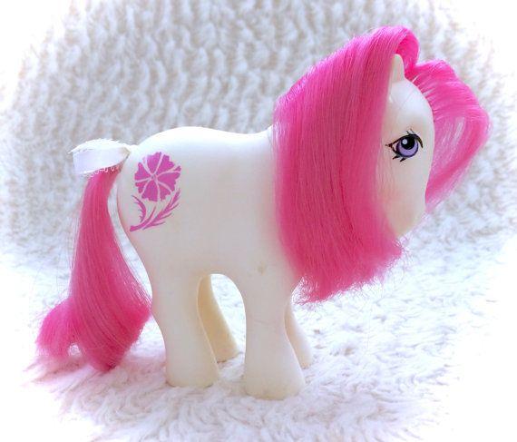 G1 my little pony october cosmos birth flower ponies original mlp g1 my little pony october cosmos birth flower by cutevintagetoys mightylinksfo