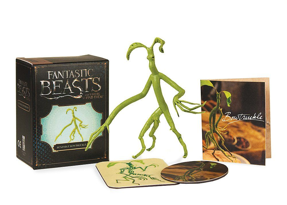Fantastic Beasts And Where To Find Them Bendable Bowtruckle Livros Na Amazon Brasil 9780762460731 Bestas Fantasticas Arte Abstrata Harry Potter