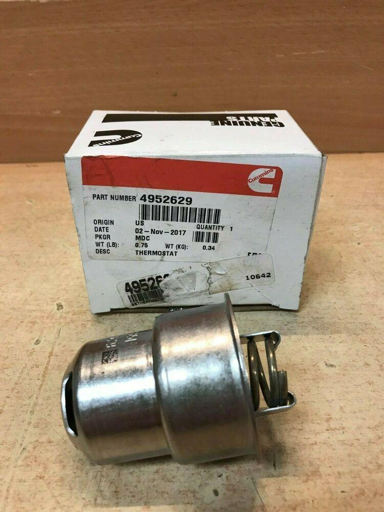 Ebay  Sponsored Cummins Genuine Parts 4952629 Thermostat