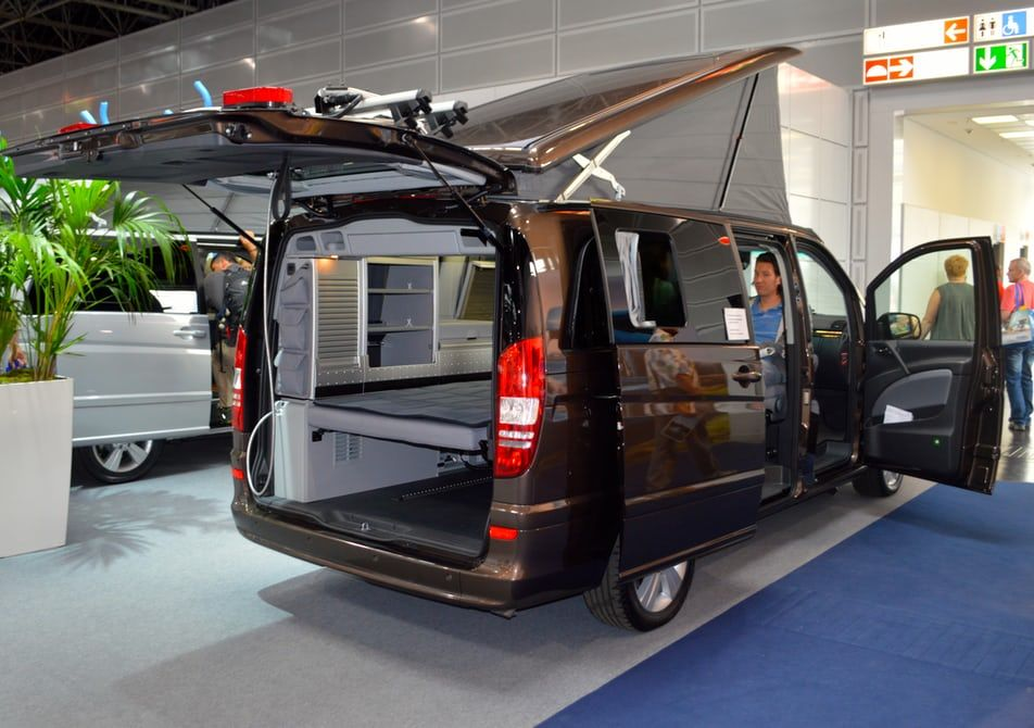 Another Viano Marco Polo on display at Westfalia\'s booth ...