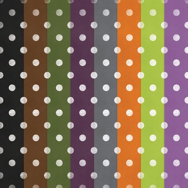 Free Printable Polka Dot Rainbow Papers u2014 DigitalCardFun
