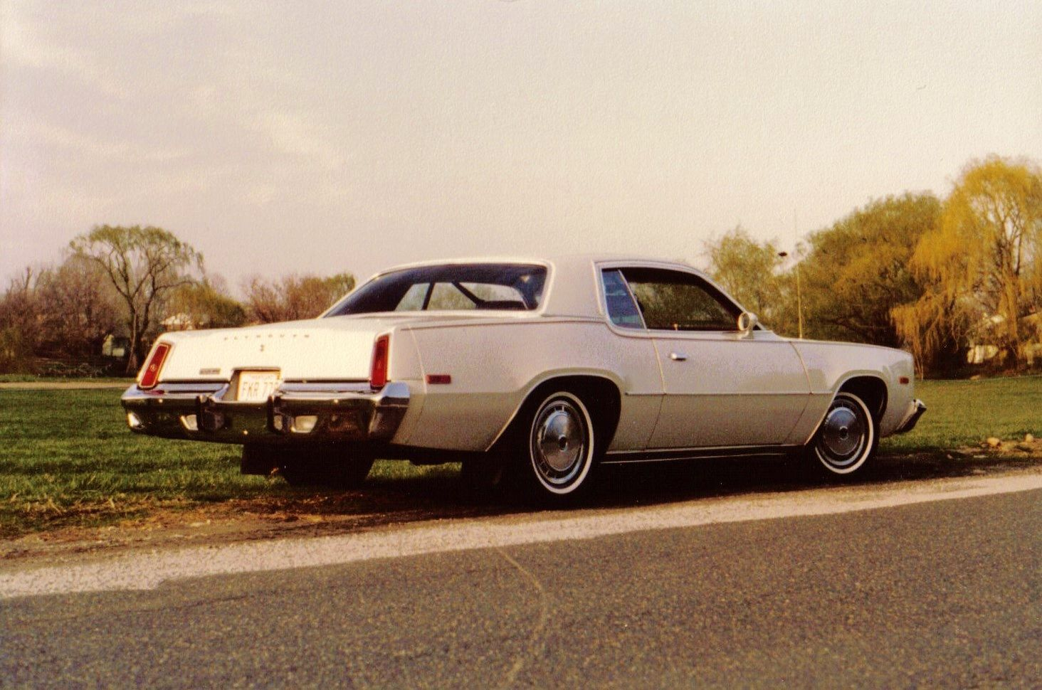 1978 Plymouth Fury Ii Purchased New In 1978 With Red Interior And White Vinyl Roof Plymouth Fury Vinyl Roofing Mopar