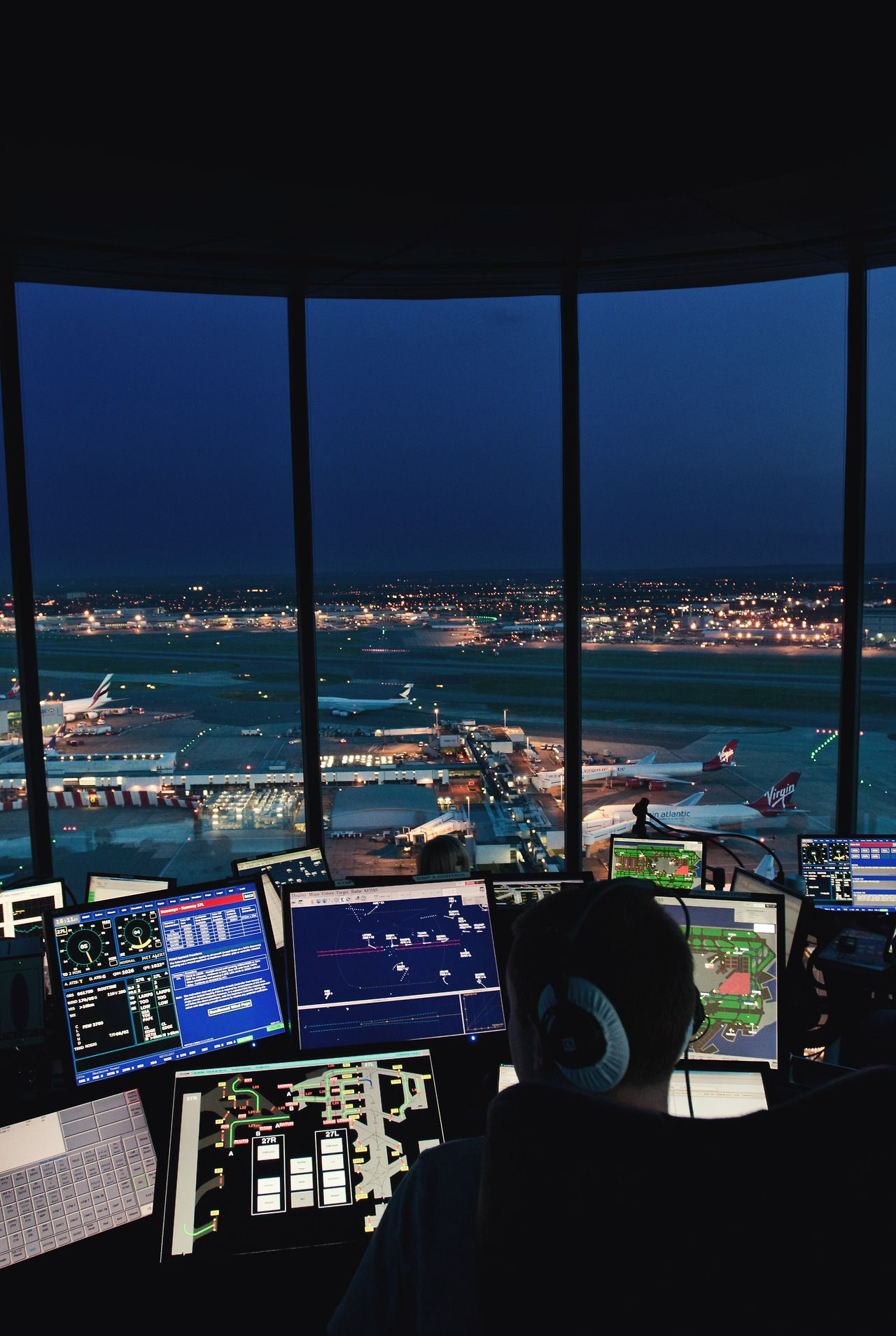 """airviation """" Heathrow Air Traffic Control Tower """" Air"""
