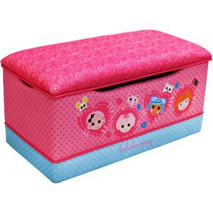 Sew Cute Toy Box Lalaloopsy Polyester Deluxe Toy Box