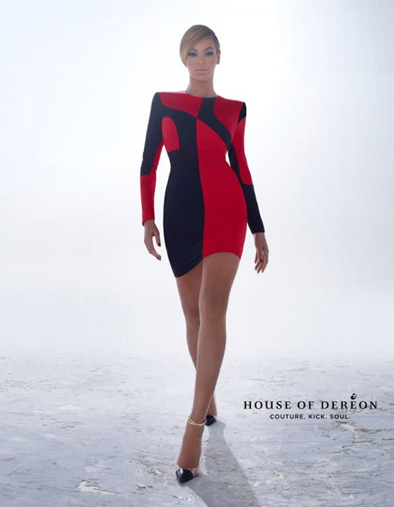 Beyonce – House of Dereon Fall/Winter 2012