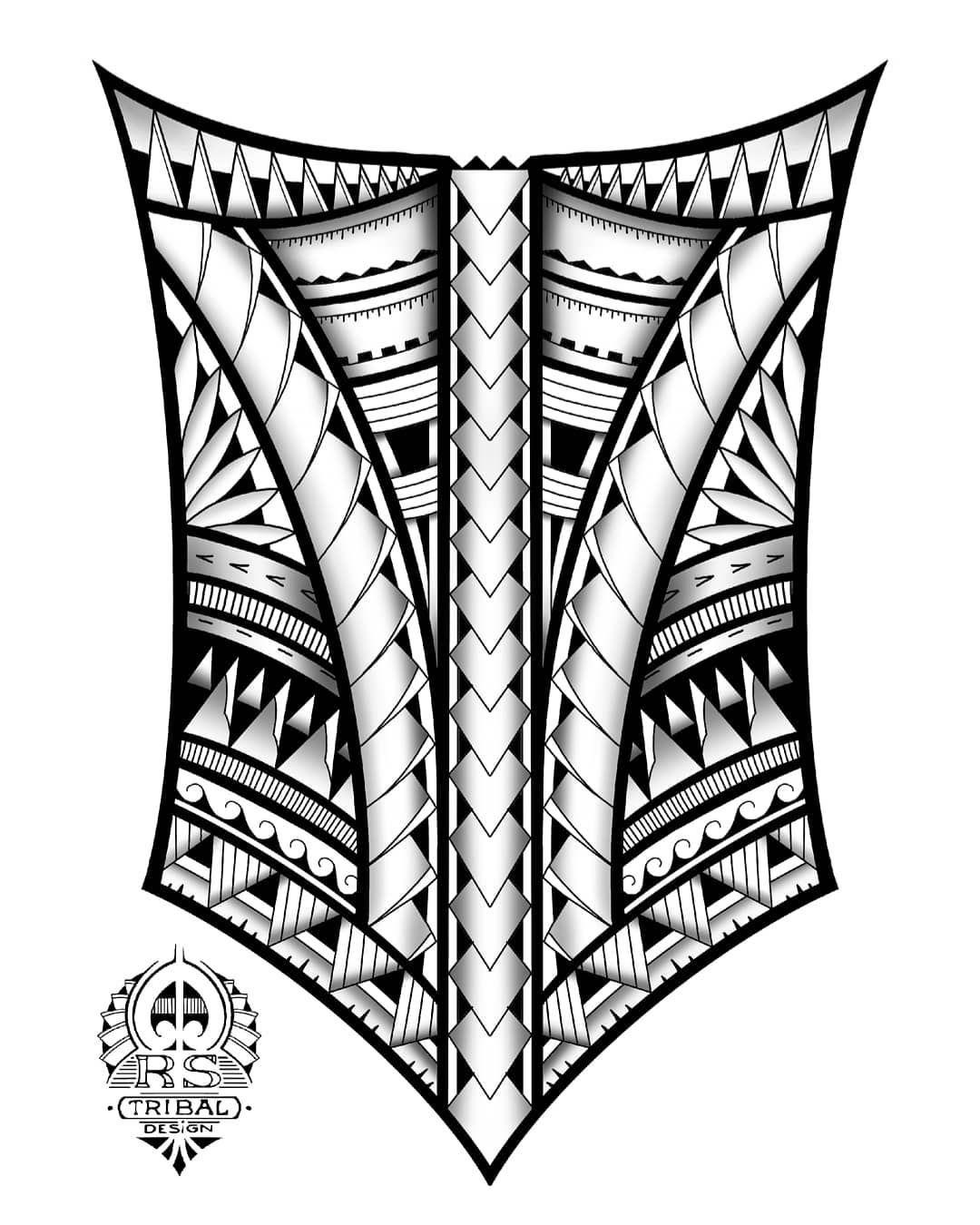 Polynesian inspired design. tribaltattoo