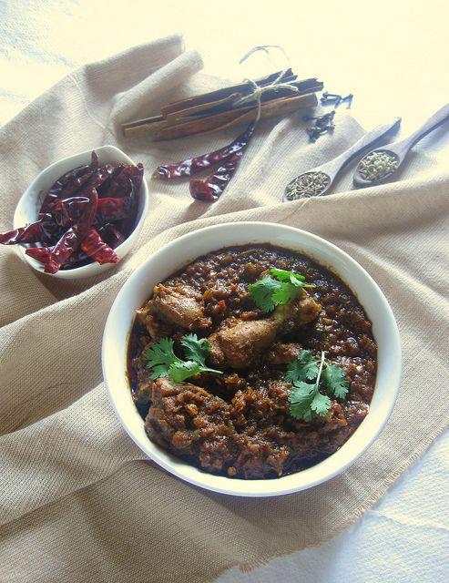 achari murgh chicken curry