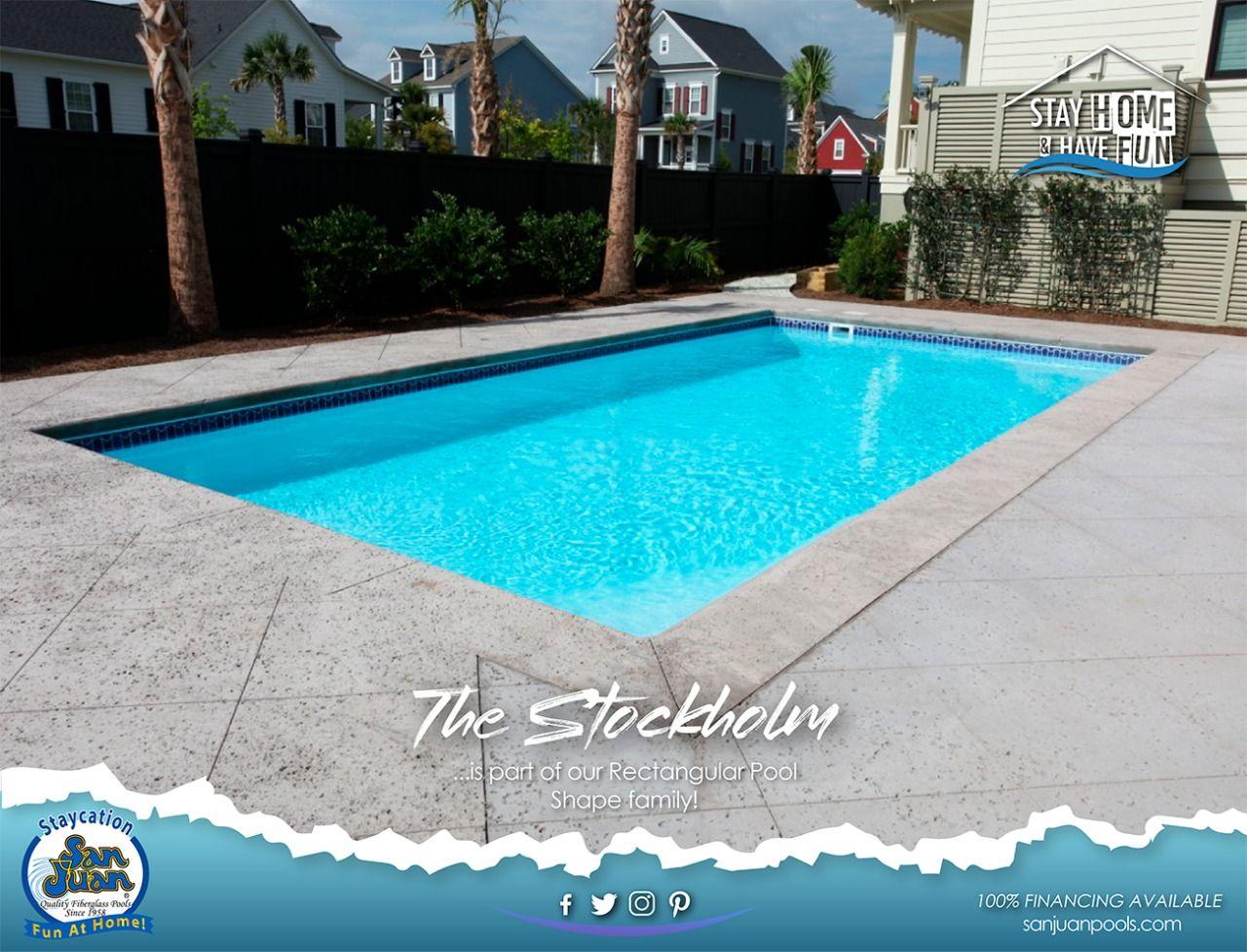 The Stockholm San Juan Pools In 2020 Fiberglass Pools Pool San Juan Pools