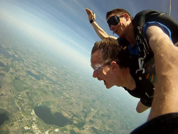 Pic from first tandem jump.