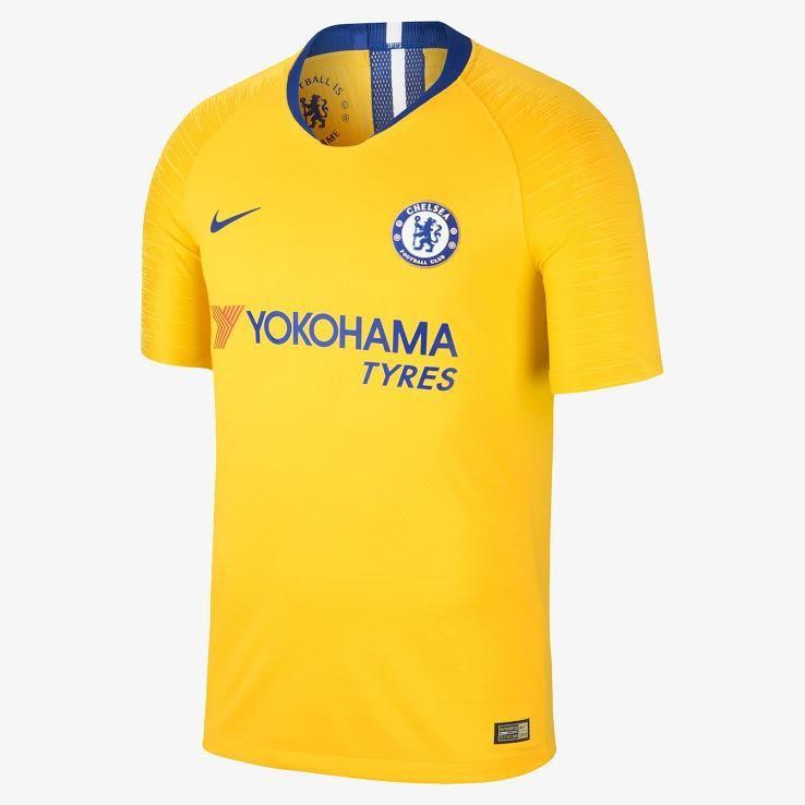 Chelsea 18 19 Nike Away Kit Shirt Soccer Fussball Replica Jersey Football Bnwt Tops Soccer Jersey Chelsea Nike Mens Soccer
