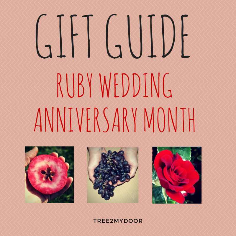 ruby wedding anniversary gift guide all these gifts can be