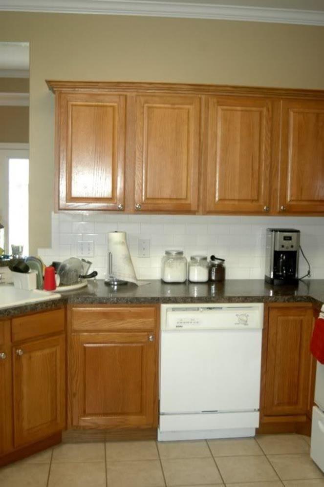 kitchen wall colors with oak cabinets 9  oak kitchen