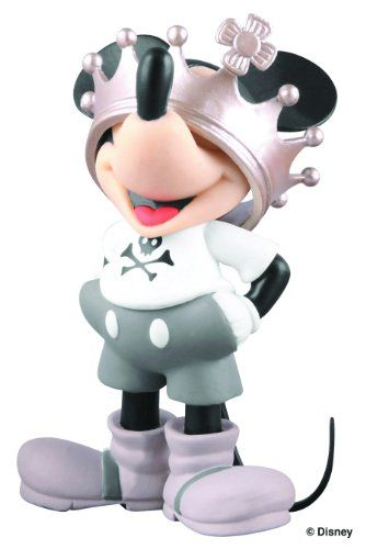 Medicom Reon X Disney: Mickey Mouse Collection: Crowned Mickey Ultra Detail Figure Medicom
