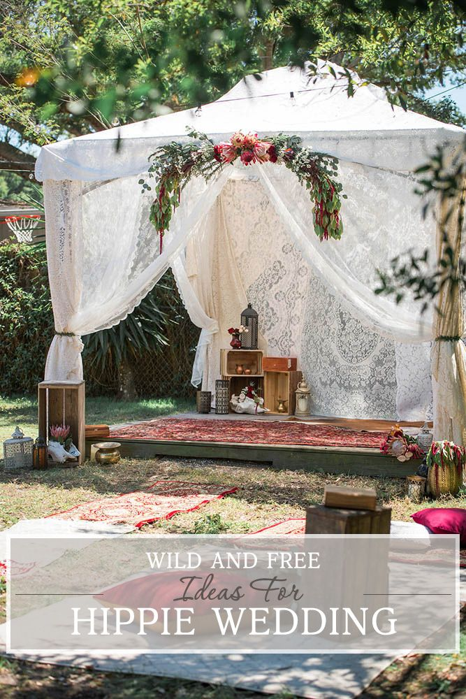 30 Wild And Free Hippie Wedding Ideas | Wedding ...