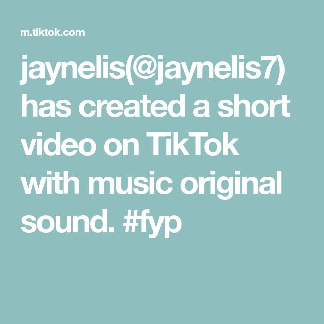Jaynelis Jaynelis7 Has Created A Short Video On Tiktok With Music Original Sound Fyp Music Power The Originals Skits