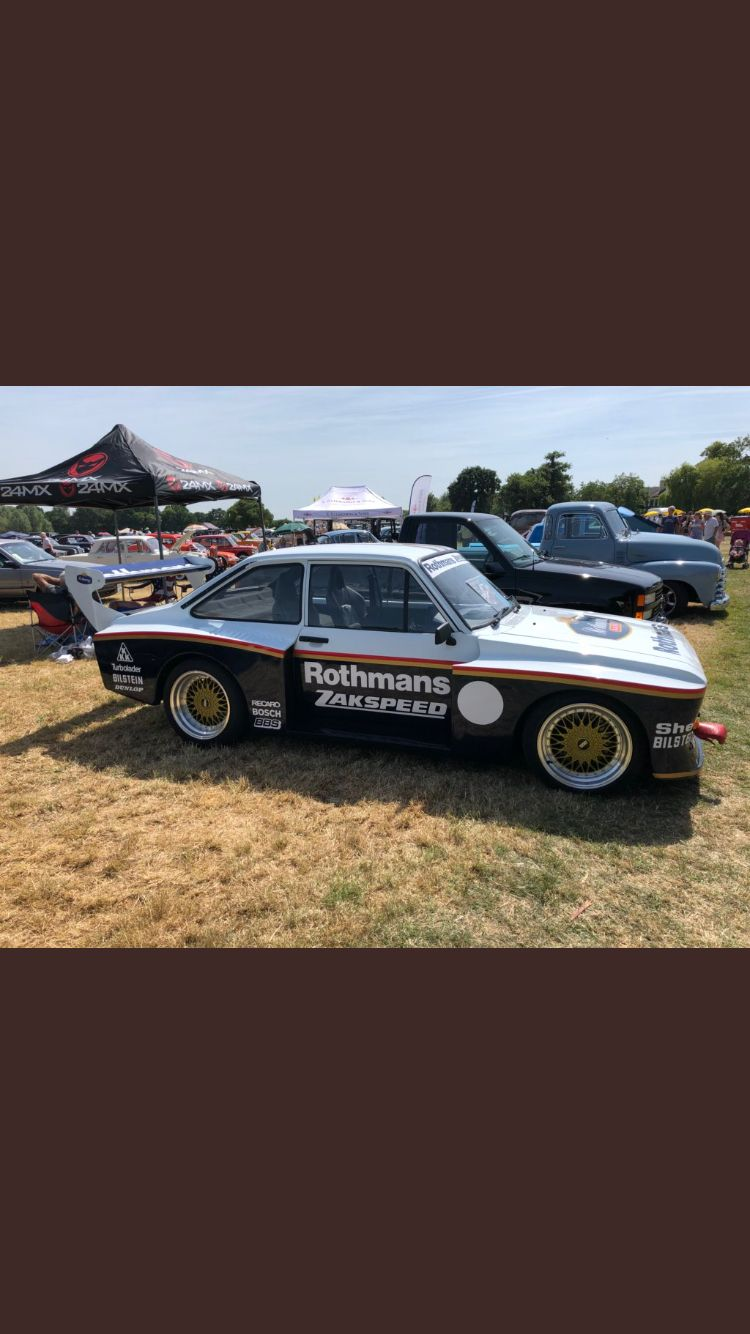 Ford Zakspeed Ford Motorsport Touring Car Racing Ford Classic Cars