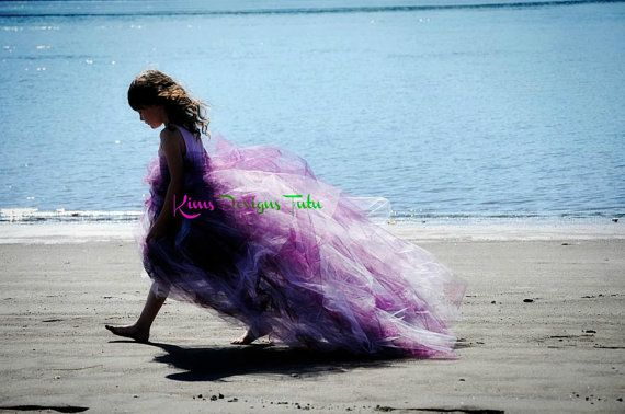 Extra Long Purple Tutu Skirt 12 Months Up To Adult By Kimbercyr 6000