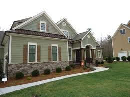 Image Result For Sage Green Siding With Brown Trim Outside House Colors House Paint Exterior Green Siding