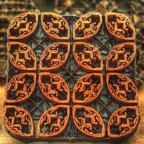 Batik Plentong (Wax Resist